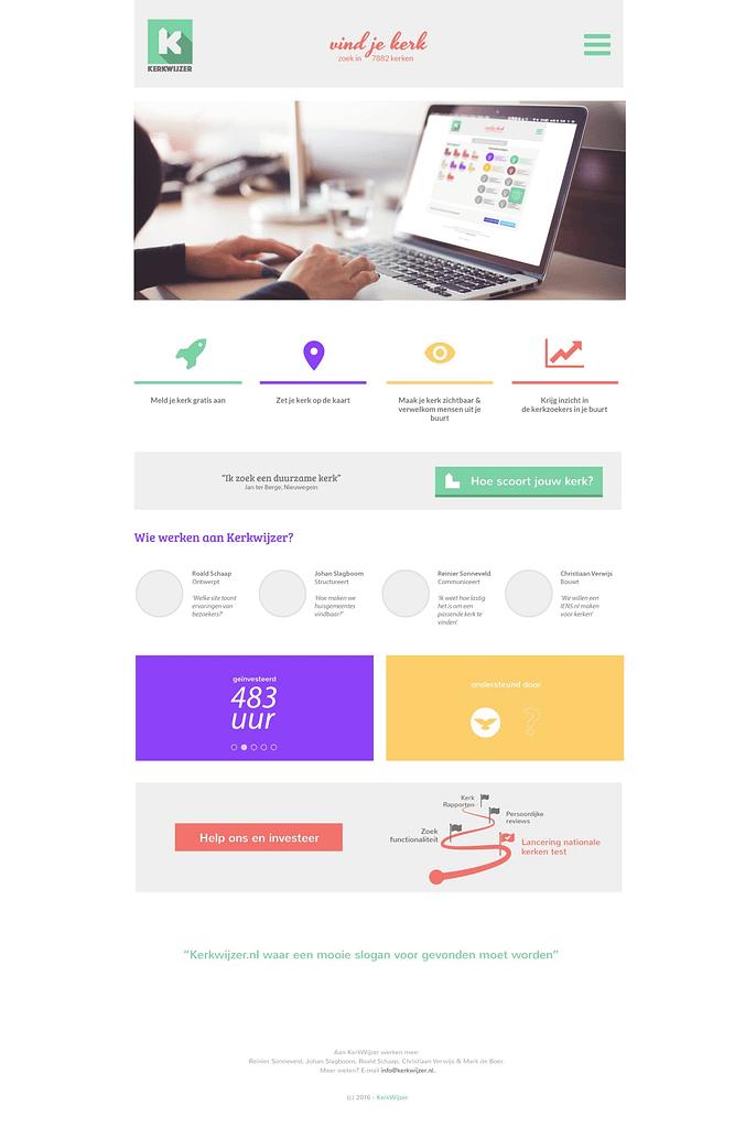 homepage kerkwijzer